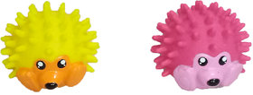 Petshop7 Rubber Spiny Hedgehog Dog Toy / Pet Toy - Small (Any One)