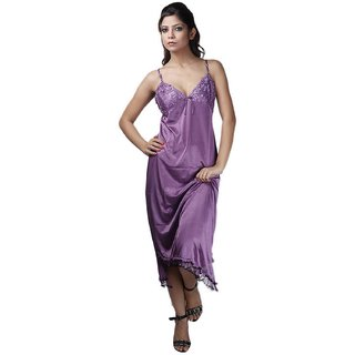 Boosah Multicolour Satin Babydoll Dress - Pack of 2