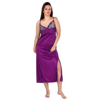 Buy Boosah Nighty and Robe Set Purple Online - Get 69% Off 8430af3c0