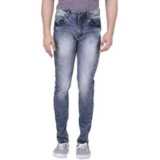 0e441043638 Buy Realm Men Blue Skinny Fit Acid Wash Stretchable Jeans Online ...