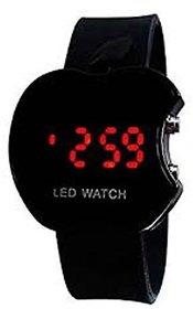 Ismart Black Led Digital Watch For Boys, Girls, Kids (I