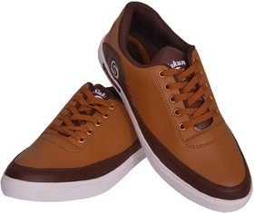 Sukun Brown Casual Shoes For Men