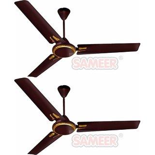 Sameer Jewel 1200 mm 3 Blades Ceiling Fan