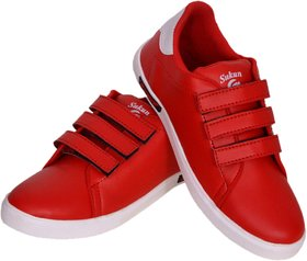 Sukun Red Casual Shoes For Men