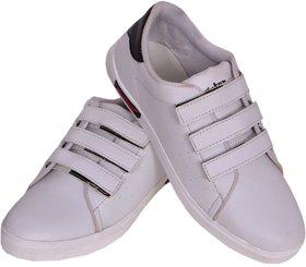 Sukun White Casual Shoes For Men