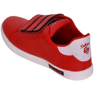 d7ab4a50b9560 Buy Sukun Red Casual Shoes For Men Online - Get 60% Off