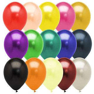 Buy Multicolor Metallic Balloons