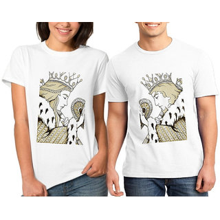 King Queen Card Ii Couple Combo Tshirts