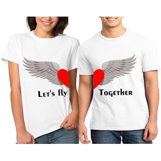LET's FLY TOGETHER COUPLE COMBO TSHIRTS