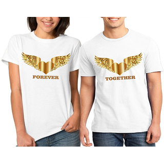 Fly Together Forever Couple Combo Tshirts