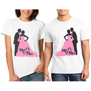 MR  MRS COUPLE COMBO TSHIRTS