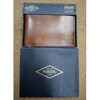 Branded Surplus Premium Genuine Leather Men Bi fold Light Brown Men Wallet
