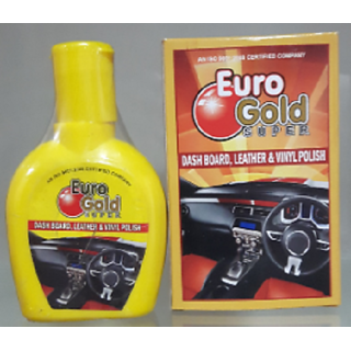 Euro Gold Super Dashboard Leather  Vinyle Polish