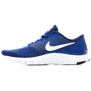 Nike Men'S Flex Contact Blue Running Shoes