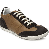 Franco Leone Casual Shoes BROWN Lace Up