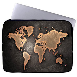Inducekart Around The World 10 inch Laptop Sleeve