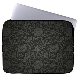 Inducekart Circle of Flowers 10 inch Laptop Sleeve