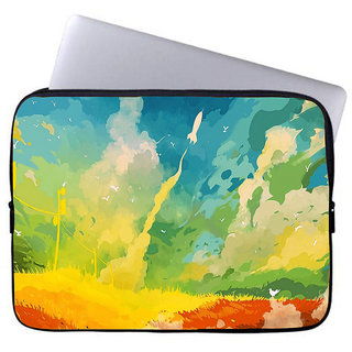 Inducekart Color of Life 10 inch Laptop Sleeve