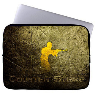 Inducekart Counter Strike 10 inch Laptop Sleeve