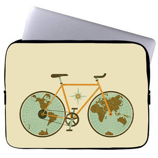 Inducekart Cycle 10 inch Laptop Sleeve