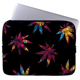 Inducekart Falling Leaves 10 inch Laptop Sleeve