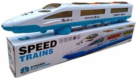 Goyal 3D EMU Trains Flash Electric  (White)