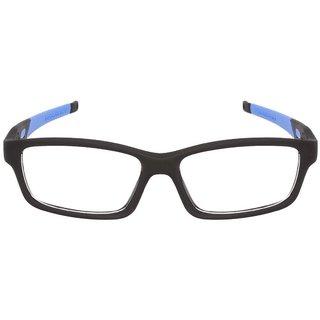 2b2449c2efc Buy David Martin Anti-Glare Full Rim Rectangle Eyeglass Frame-Red ...