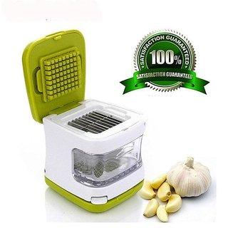 Easy Garlic Press Garlic Chopper,Mini Garlic Press
