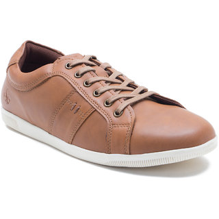 Bond Street By Red Tape Men'S Tan Sneakers