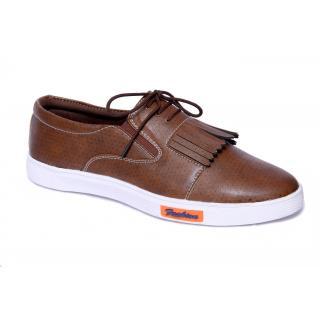 Mr. Vogue Men's Brown Tassel Casual Shoes