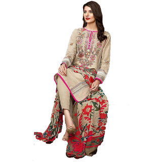 a0df6a9c7aa Ethnic Trendy Chocolate Girl Pakistani Unstitched Dress Material