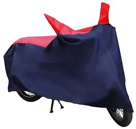 HMS Bike body cover Perfect fit for Honda CB Shine SP - Colour Red and Blue