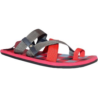 Stylos Men's365  Red sandals