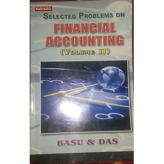 Financial Accounting book of Basu and Das for 2nd year B. Com (Honours) of Calcutta University.