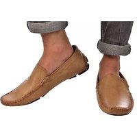 Lee Fox Designer Tan Shoe For Men