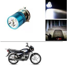 AutoStark Bike H4 3LED Bright Light Bulb White For Hero Pleasure