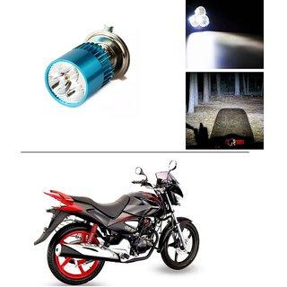 Buy AutoStark Bike H4 3LED Bright Light Bulb White For Honda