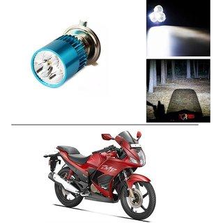 Autostark Bike H4 3led Bright Light Bulb White For Hero Karizma