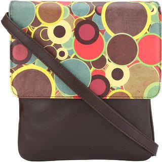 Vivinkaa Circlet Digital Printed Sling Bag for Women