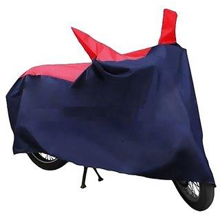 HMS Bike body cover Custom made for Suzuki Gixxer - Colour Red and Blue