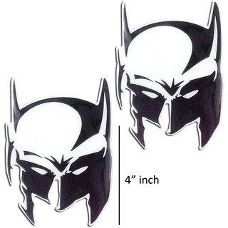 Customize Batman mask 2x 4 Decal vinyl Sticker for UNIVERSAL CARS bike scooter
