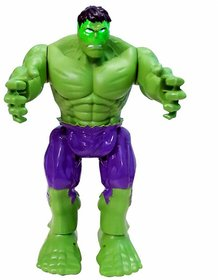 PRiQ - Avenger Hulk Action Hero Vignette Statue  Moving Toy With Lights And Sound