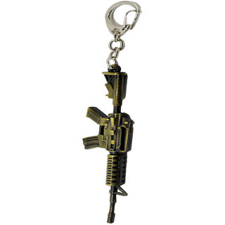 Faynci Army Fire Arms Ak-47 War Weapons Long Key chain for all fashion lover (L-15,w-2)