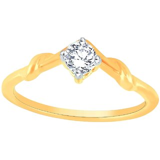 Glitterati By Asmi Diamond Ring WER09269SI-JK14Y