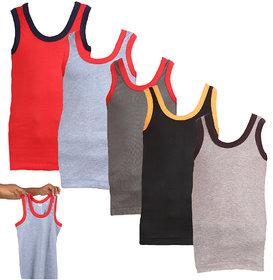 Lyril Multi Colour Boys Vest