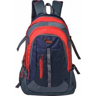 F Gear Defender V2 45 Liters (Navy Blue, Red) Rucksack Bag