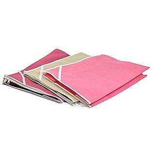 Fashion Bizz Non Woven Saree CoverSet of 3 Pcs/ Wardrobe Organiser/Regular Clothes Bag