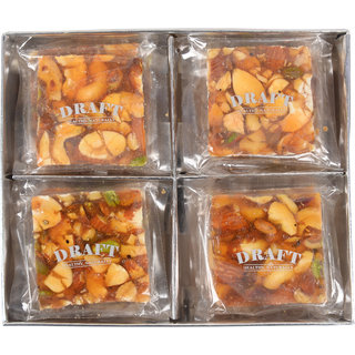 DRAFT Mix Dry Fruits Chikki - 400 Gms
