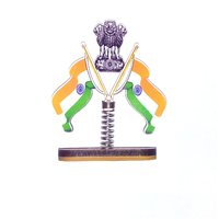 Universal Car Dashboard Indian Flag For Car Dashboard and Office Table