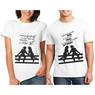 Caca Anp Love Quote Iii Couple Combo Tshirts